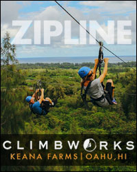 Zipline Oahu's North Shore