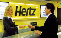 Search Cars at Hertz Rentals