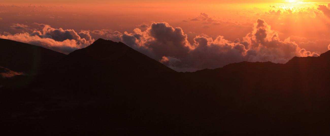 Sunrise over Haleakala Crater - check out tours below!