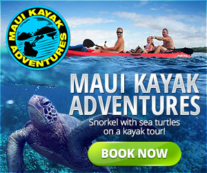 Maui Kayak Adventures - 300x250