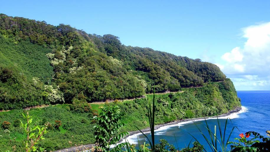 Hana Highway Coastal Curves