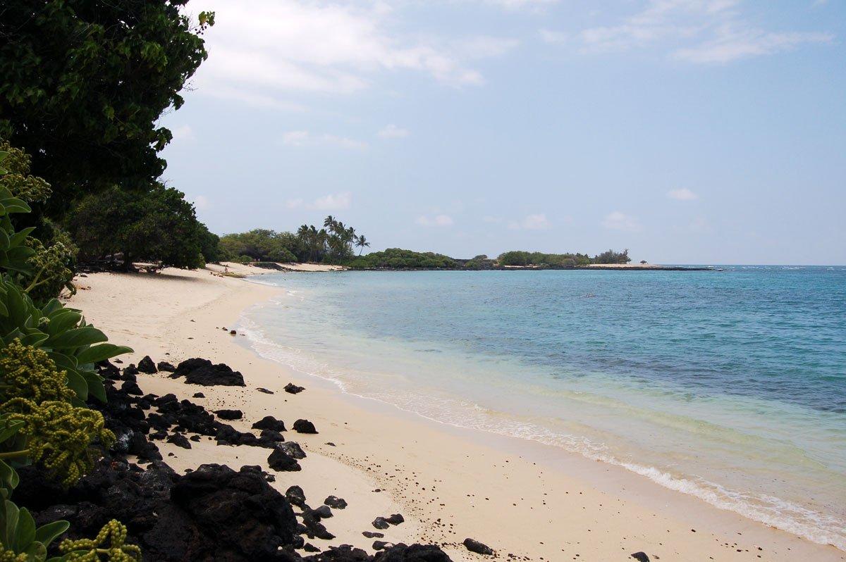 Kona Coast Kekaha Kai State Park Big Island Of Hawaii