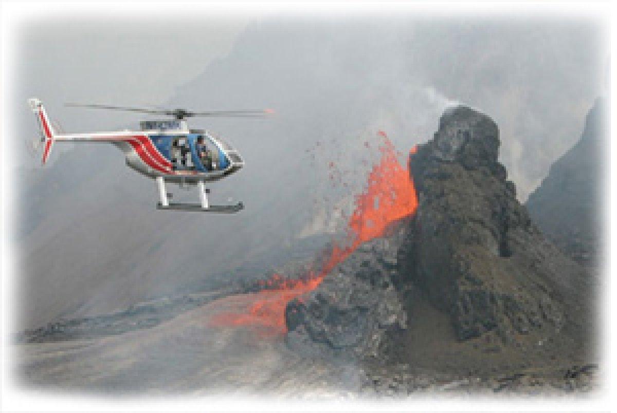 Volcano Helicopter Tour  Big Island Of Hawaii